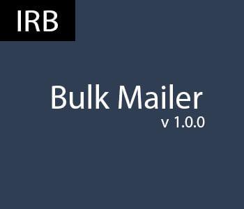 Bulk Mailer - mass email software